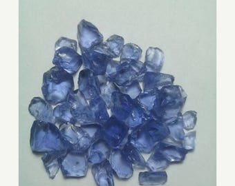 80% OFF SALE 10 Pieces Tanzanite Rough