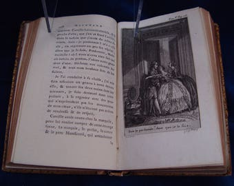 Antique BOOK dated the year 1786 A.D. France.