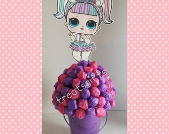 LOL surprise dolls  birthday - LOL dolls centerpiece - LOL surprise- lol dolls party - lol party - lol surprise   - lol dolls birthday party