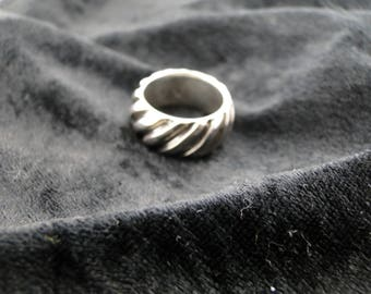 Sterling Silver Ring Band Size 8