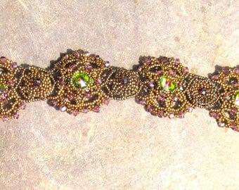 Filigree Sparkling Swarovski Bracelet