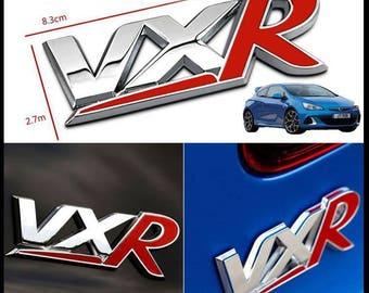 Vauxhall VXR New Boot Badge Vectra Astra Corsa Meriva Insignia