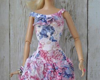 Beautiful handmade clothes-dress for Barbie Fashionistas dolls