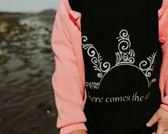 SALE Multiple Options ~ Here Comes the Sun Kids Tee - Original and Ethical fashion