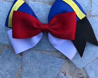Donald duck hair bow