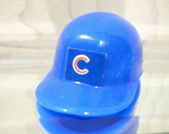Vintage 1970s/1980s MLB CHICAGO CUBS mini gumball baseball helmet
