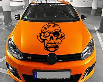 zombie car hood decal Zombie Car Decals Zombie Car Truck Side Body Graphics Decal Sticker for car kikcar14