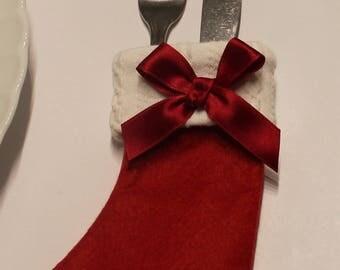 Christmas Cutlery Holder