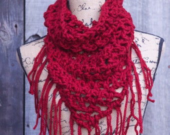 Red Triangle Cowl