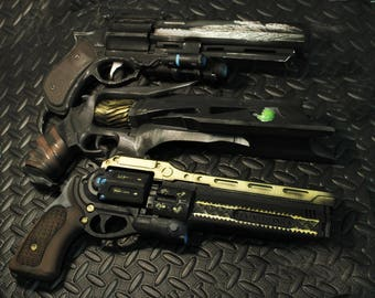 3 Destiny Exotic Hand Canons (Last Word, Thorn, Hawkmoon) 1:1 scale (free shipping)