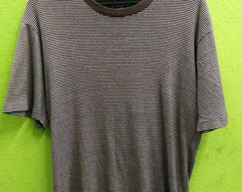 Polo Ralph lauren stripes t shirt unisex size M