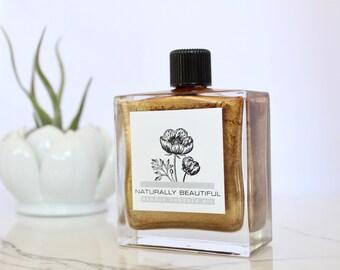 Body Oil - Bronzing Oil - Shimmer Oil - Organic Skincare Natural Skincare - Bronzing Oil - Bronzing Lotion - Shimmer Oil - Moisturizer