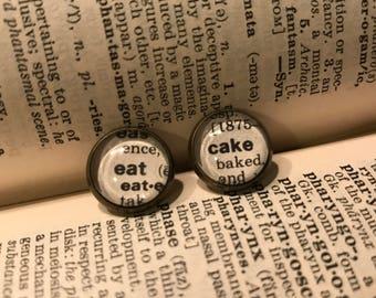Eat Cake Earrings