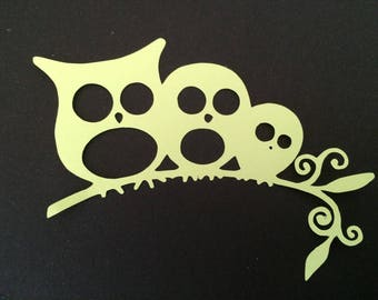 Cut out OWL owls