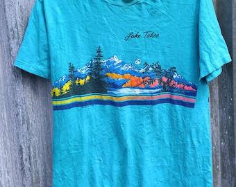 0320 Vintage Lake Tahoe shirt