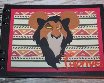 Disney Autograph Inspired by Lion King-Scar
