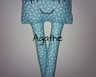 """Doudou, plush baby """"Agathe"""""""