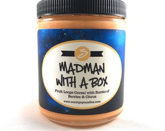 Madman with a Box, Doctor Who Inspired Soy Candle