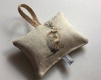 Hartley hare hanging lavender sachet