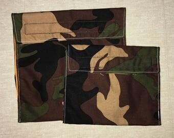 "Camouflage ""Unplastic"" bag set"