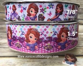 Princess sophia inspired ribbon