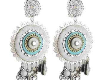 Babylon clip earring