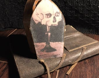 Coffin Jewelry Art Box