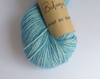 Bahamas - Skein of wool Alpaca hand dyed