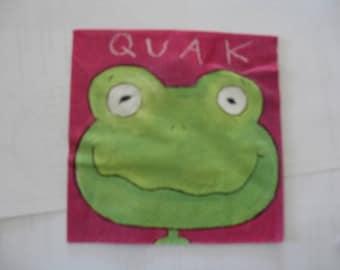set of 2 frog paper napkins