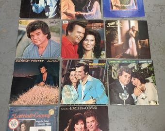 11 Conway Twitty albums/lp