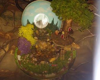 Miniature Teacup Fairy Garden