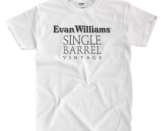 Evan Williams Single Barrel Vintage - White T-shirt