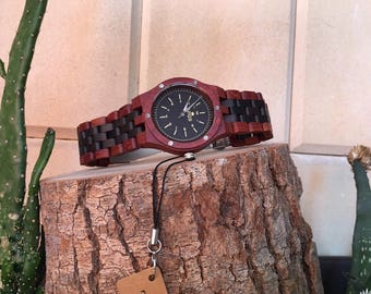 Zeus Wood Watch