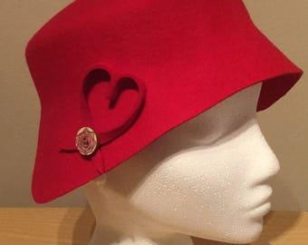 Red Valentine Hat
