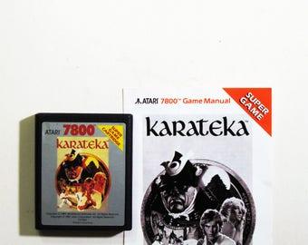 Vintage Atari 7800 Karateka