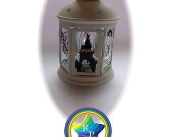 Personalised Lantern