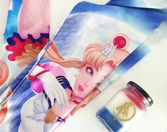 Sailor Moon inspired Candle in  Japanese Cherry Blossom  scent