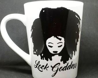 Coffee Mug Lock Goddess