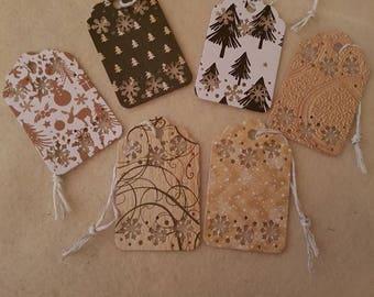 Christmas Snowflake Gift Tags
