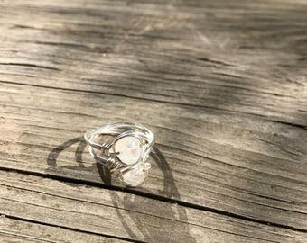 Rainbow Moonstone .925 Sterling Silver Ring