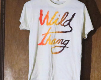 Vintage New Off White Wild Thang Medium Tshirt