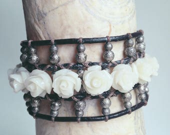 Antique Rose Cuff