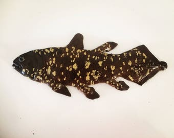 Coelacanth fish magnet