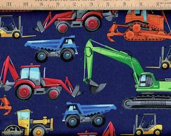 Work equipment,tractors,Trucks,loaders, Timeless Treasures