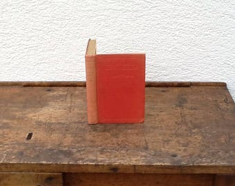 Hollow book safe made from old book 1st Anniversary gift book box secret compartment book upcycled recycled repurposed