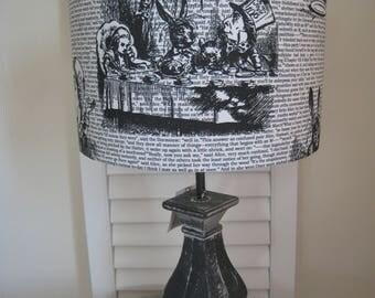 Alice in Wonderland lampshade  Handmade Lampshade Choice of Designs
