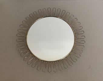 Classic 50 's/60's Sunburst wall mirror