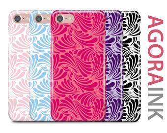 iPhone Case, iPhone 7 Case, iPhone 7 Plus Case, iPhone 6S Case, iPhone 6, Samsung Galaxy Case, Galaxy S8 Case, Galaxy S8+,  Geometric Wave