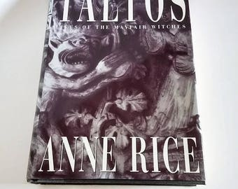 Taltos by Anne Rice   Hardcover 1st Edition