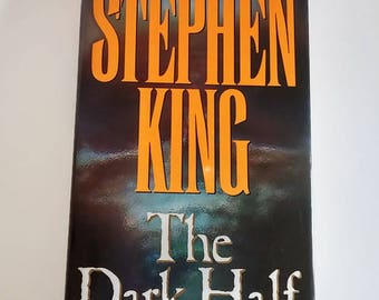 The Dark Half by Stephen King  Hardcover  1st Edition Horror